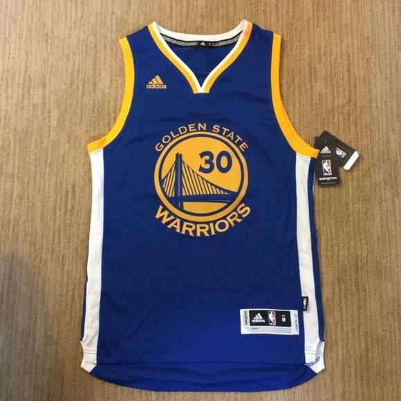 65bb9208d9e Golden State Warriors Stephen Curry Jersey Adidas